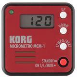 KORG Metronome Micrometro [MCM1] - Red - Metronome Digital